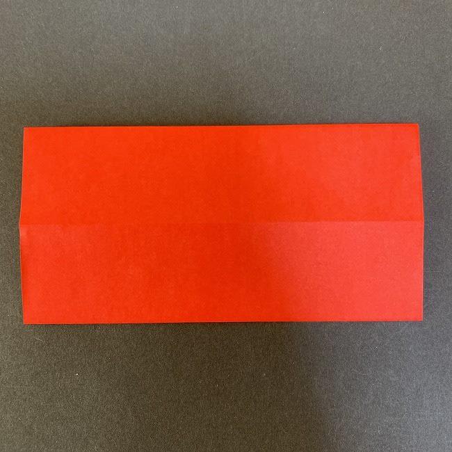 ハート型リースの作り方(折り紙) (4)