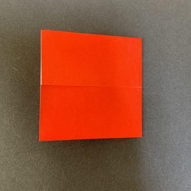 ハート型リースの作り方(折り紙) (5)