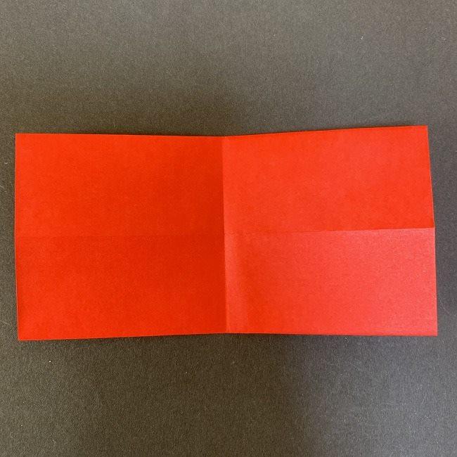 ハート型リースの作り方(折り紙) (6)