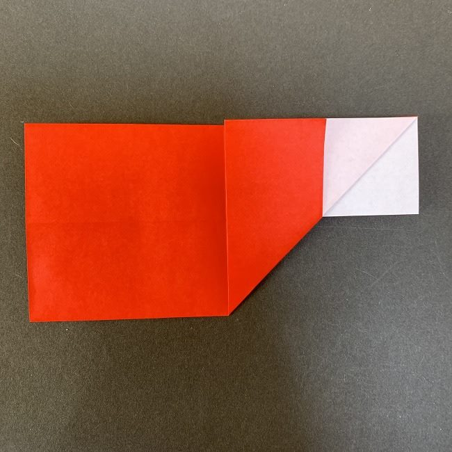 ハート型リースの作り方(折り紙) (7)