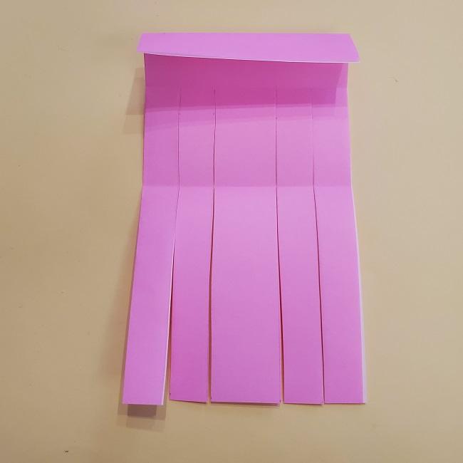 プリキュア【キュアグレース】折り紙の作り方 (13)