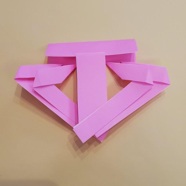 プリキュア【キュアグレース】折り紙の作り方 (16)