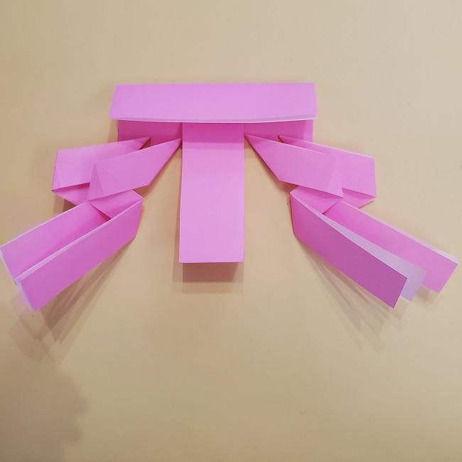 プリキュア【キュアグレース】折り紙の作り方 (17)