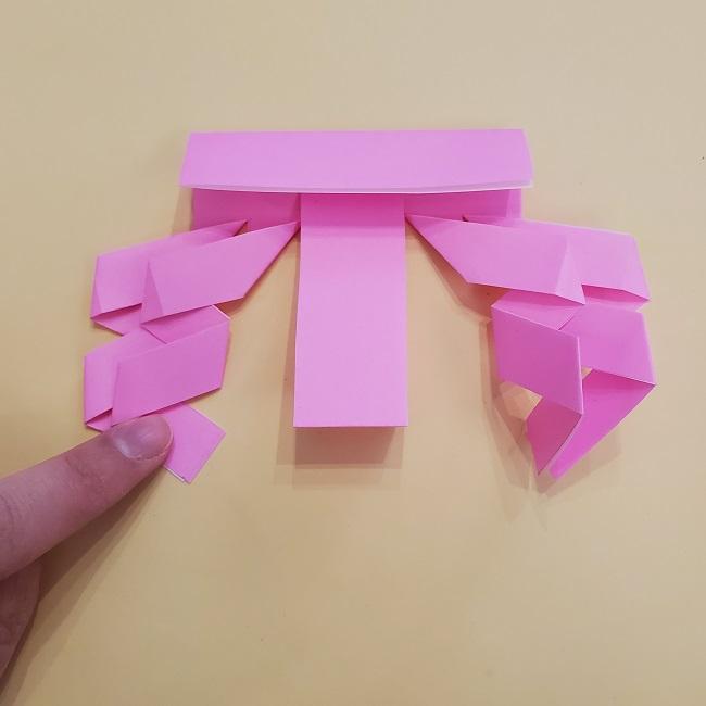 プリキュア【キュアグレース】折り紙の作り方 (18)