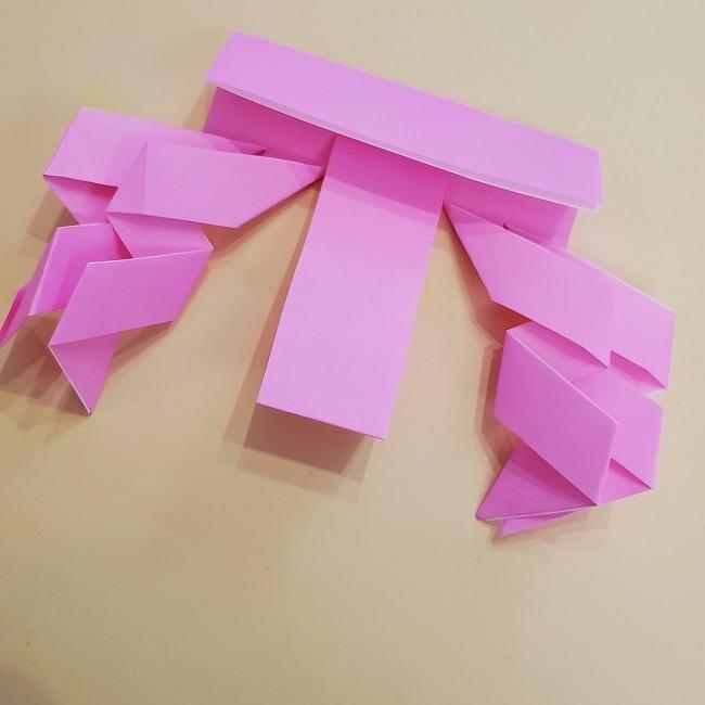 プリキュア【キュアグレース】折り紙の作り方 (19)