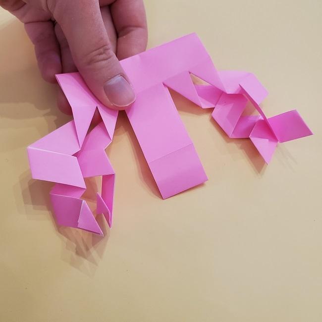 プリキュア【キュアグレース】折り紙の作り方 (20)