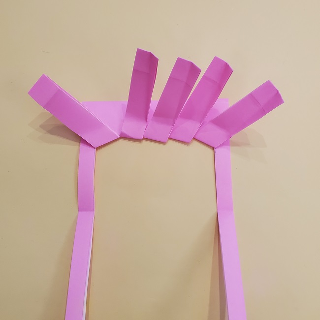 プリキュア【キュアグレース】折り紙の作り方 (25)
