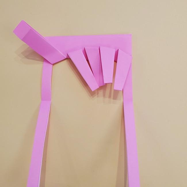プリキュア【キュアグレース】折り紙の作り方 (27)