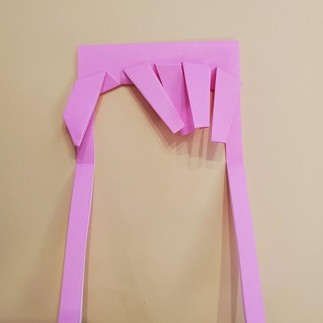 プリキュア【キュアグレース】折り紙の作り方 (29)