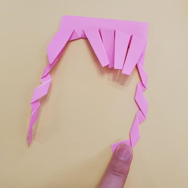 プリキュア【キュアグレース】折り紙の作り方 (32)