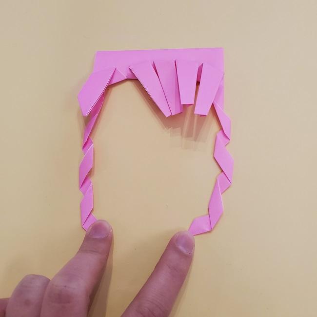 プリキュア【キュアグレース】折り紙の作り方 (33)
