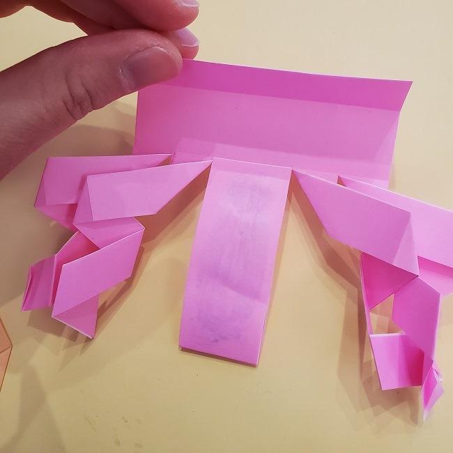 プリキュア【キュアグレース】折り紙の作り方 (34)