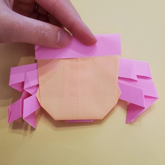 プリキュア【キュアグレース】折り紙の作り方 (35)