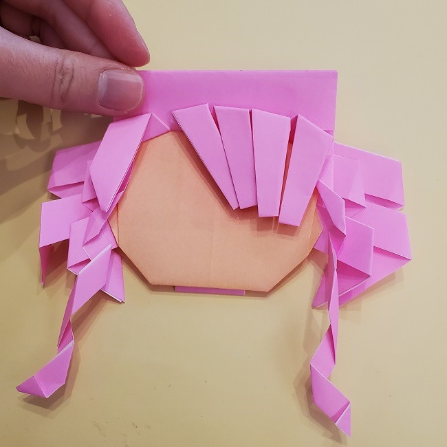プリキュア【キュアグレース】折り紙の作り方 (37)