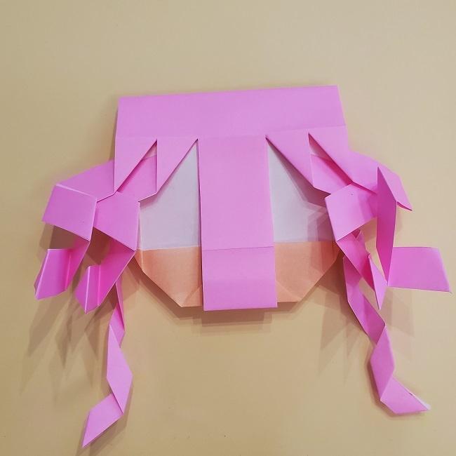 プリキュア【キュアグレース】折り紙の作り方 (38)