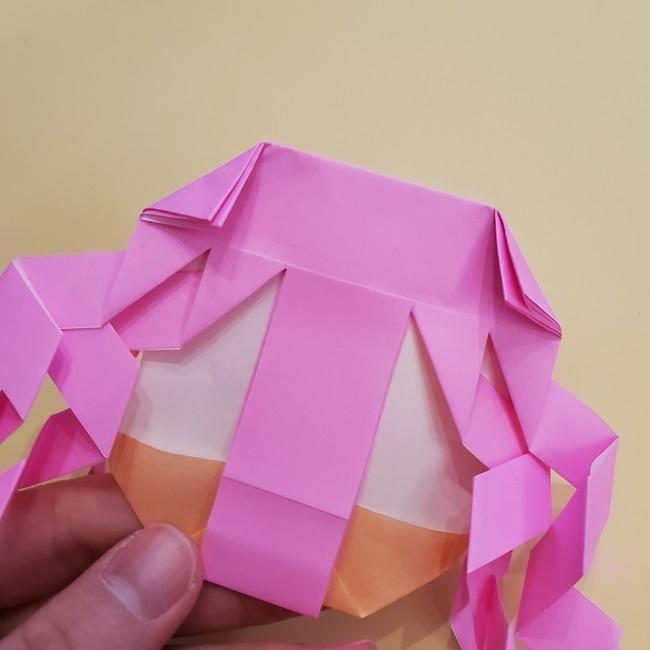 プリキュア【キュアグレース】折り紙の作り方 (39)