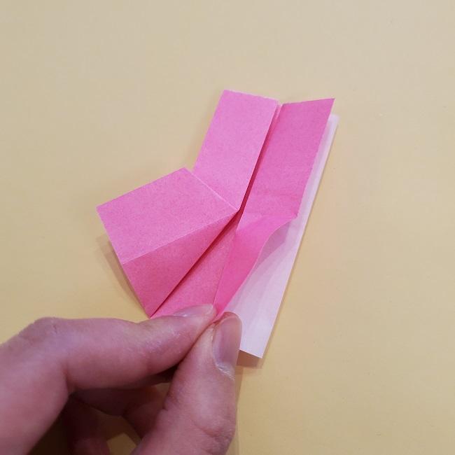 プリキュア【キュアグレース】折り紙の作り方 (53)