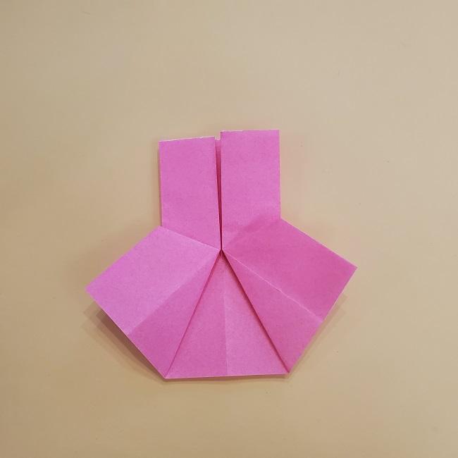 プリキュア【キュアグレース】折り紙の作り方 (54)