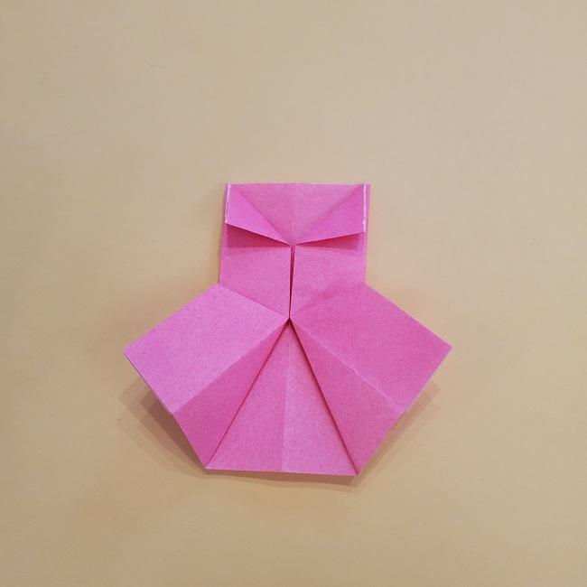 プリキュア【キュアグレース】折り紙の作り方 (55)