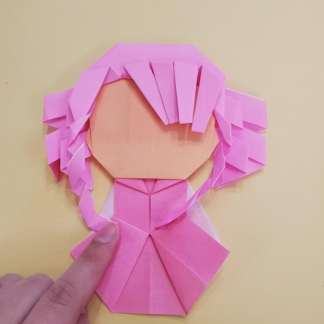 プリキュア【キュアグレース】折り紙の作り方 (61)