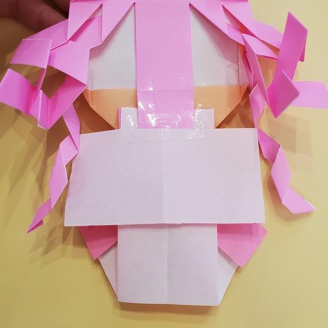 プリキュア【キュアグレース】折り紙の作り方 (62)