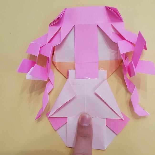 プリキュア【キュアグレース】折り紙の作り方 (63)