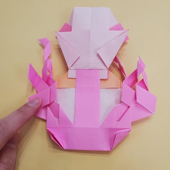 プリキュア【キュアグレース】折り紙の作り方 (64)