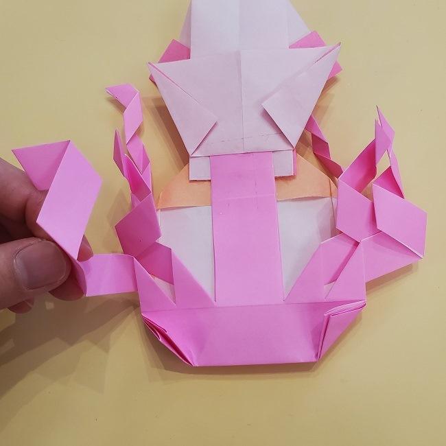プリキュア【キュアグレース】折り紙の作り方 (65)