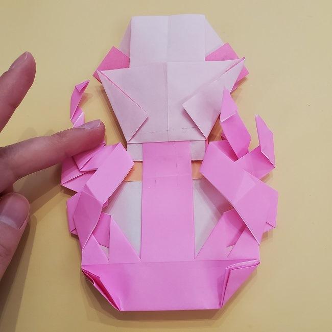 プリキュア【キュアグレース】折り紙の作り方 (66)
