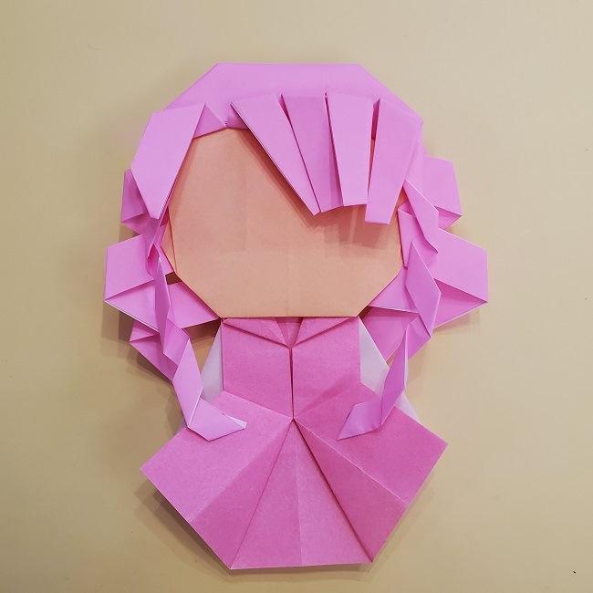 プリキュア【キュアグレース】折り紙の作り方 (67)