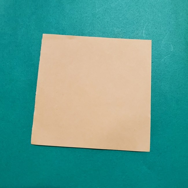 プリキュアの折り紙の作り方【キュアフォンテーヌ】 (1)