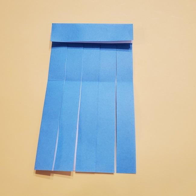 プリキュアの折り紙の作り方【キュアフォンテーヌ】 (12)