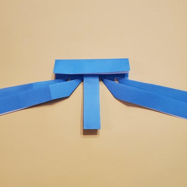 プリキュアの折り紙の作り方【キュアフォンテーヌ】 (14)