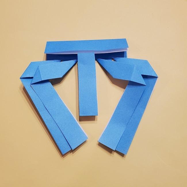 プリキュアの折り紙の作り方【キュアフォンテーヌ】 (15)
