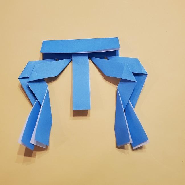 プリキュアの折り紙の作り方【キュアフォンテーヌ】 (16)