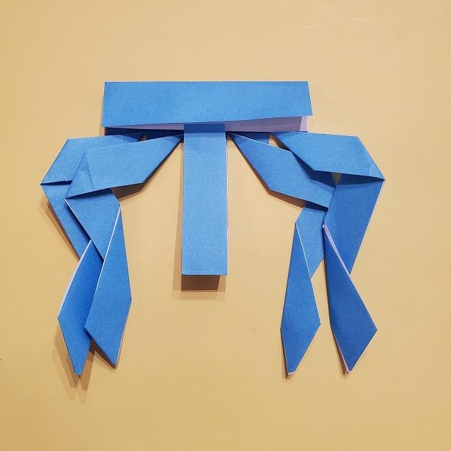 プリキュアの折り紙の作り方【キュアフォンテーヌ】 (17)