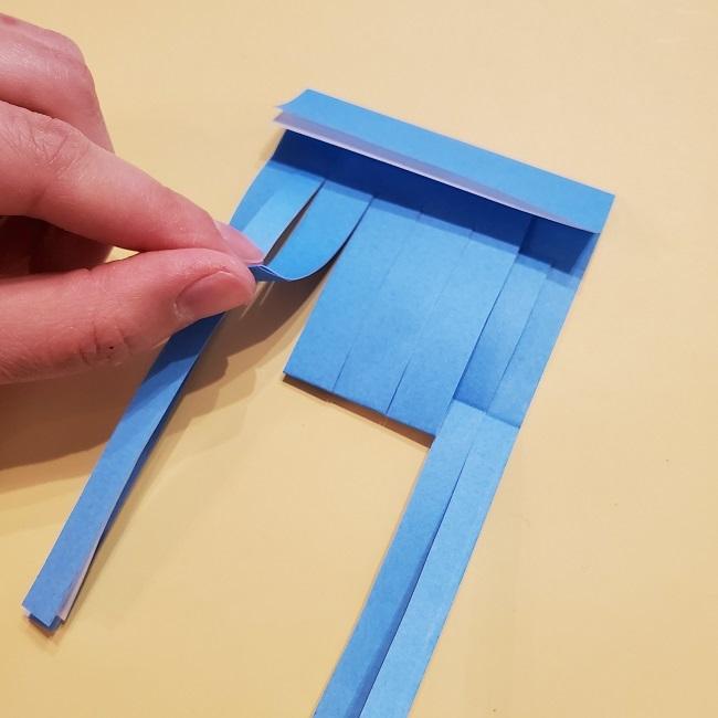 プリキュアの折り紙の作り方【キュアフォンテーヌ】 (22)