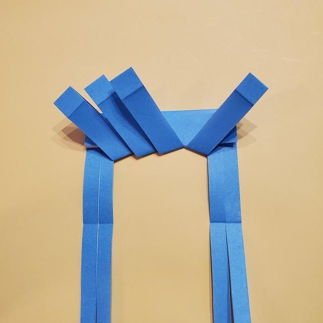 プリキュアの折り紙の作り方【キュアフォンテーヌ】 (23)