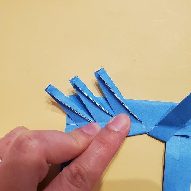 プリキュアの折り紙の作り方【キュアフォンテーヌ】 (24)