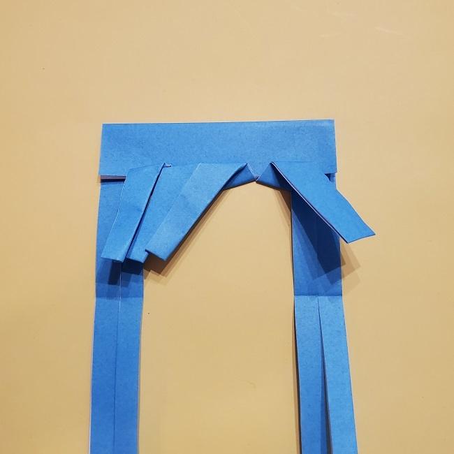 プリキュアの折り紙の作り方【キュアフォンテーヌ】 (25)