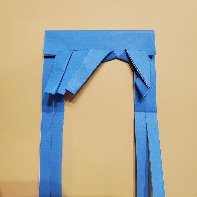 プリキュアの折り紙の作り方【キュアフォンテーヌ】 (26)