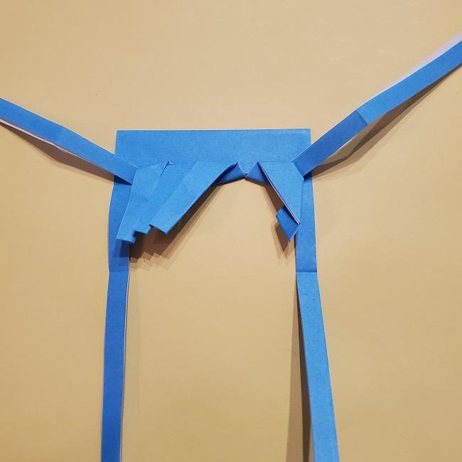 プリキュアの折り紙の作り方【キュアフォンテーヌ】 (27)