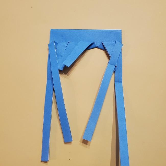 プリキュアの折り紙の作り方【キュアフォンテーヌ】 (28)