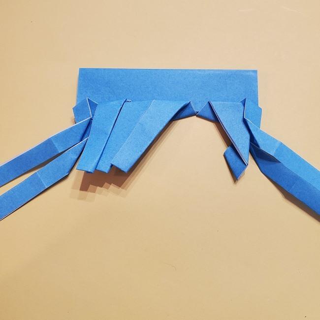 プリキュアの折り紙の作り方【キュアフォンテーヌ】 (29)