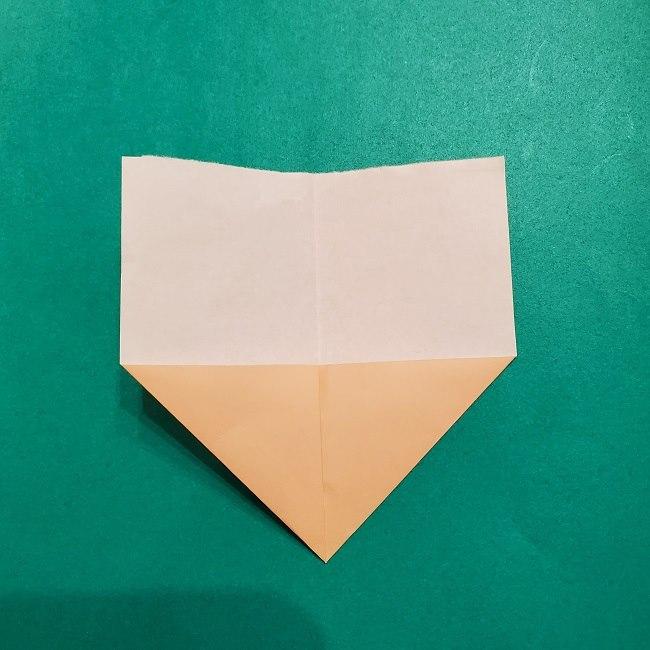 プリキュアの折り紙の作り方【キュアフォンテーヌ】 (3)