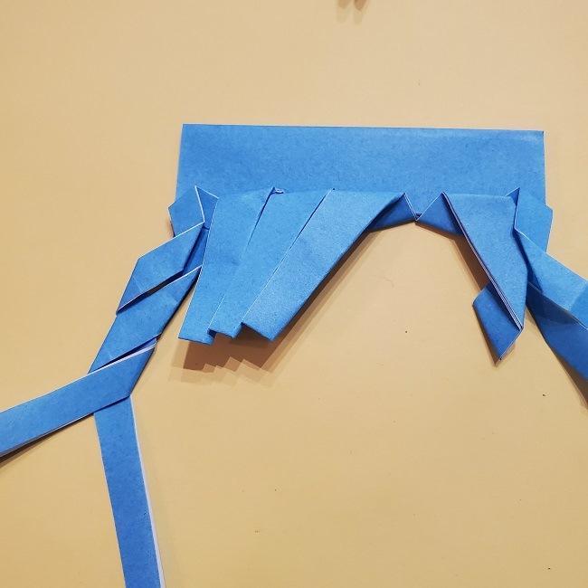 プリキュアの折り紙の作り方【キュアフォンテーヌ】 (30)