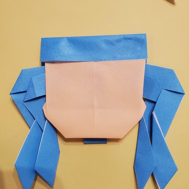 プリキュアの折り紙の作り方【キュアフォンテーヌ】 (37)