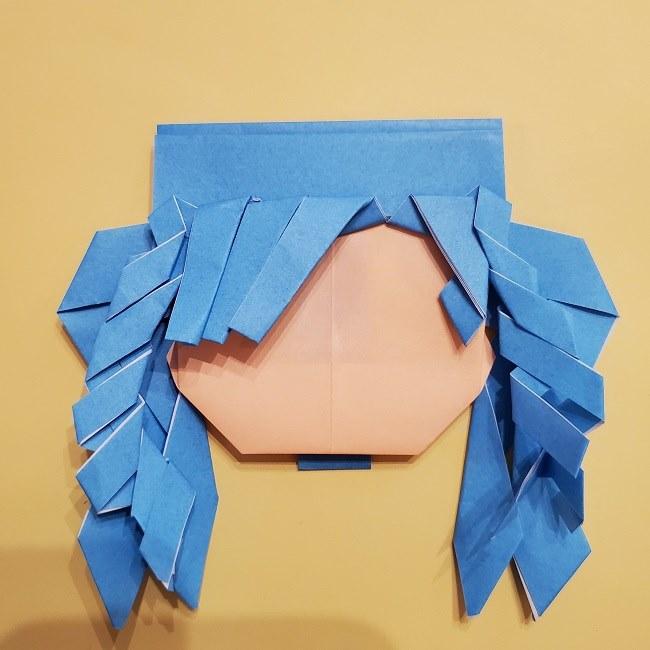 プリキュアの折り紙の作り方【キュアフォンテーヌ】 (38)
