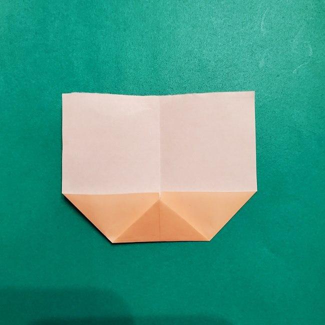 プリキュアの折り紙の作り方【キュアフォンテーヌ】 (4)