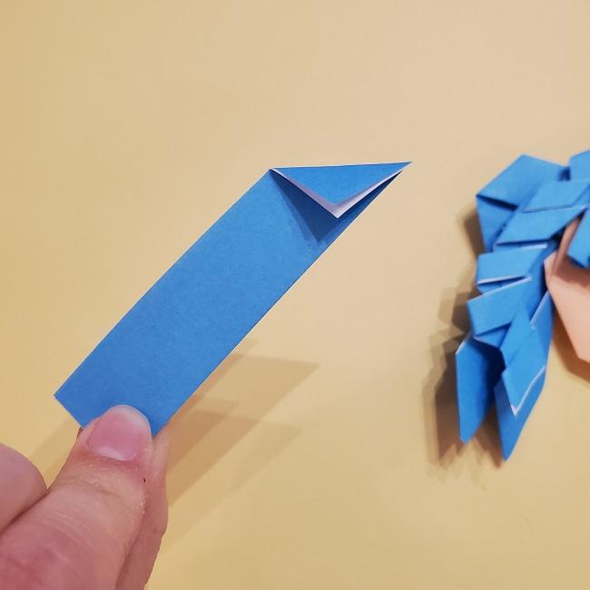 プリキュアの折り紙の作り方【キュアフォンテーヌ】 (41)